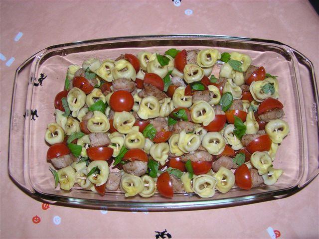 Tortellini-Spieße