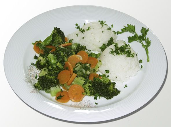 indische Reispfanne
