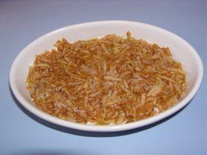 Grieß-Apfel-Kuchen