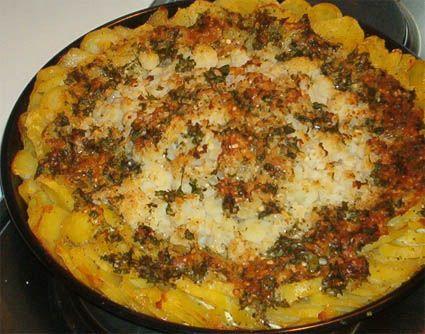 Blumenkohl überbacken mit Kartoffeln (GG)