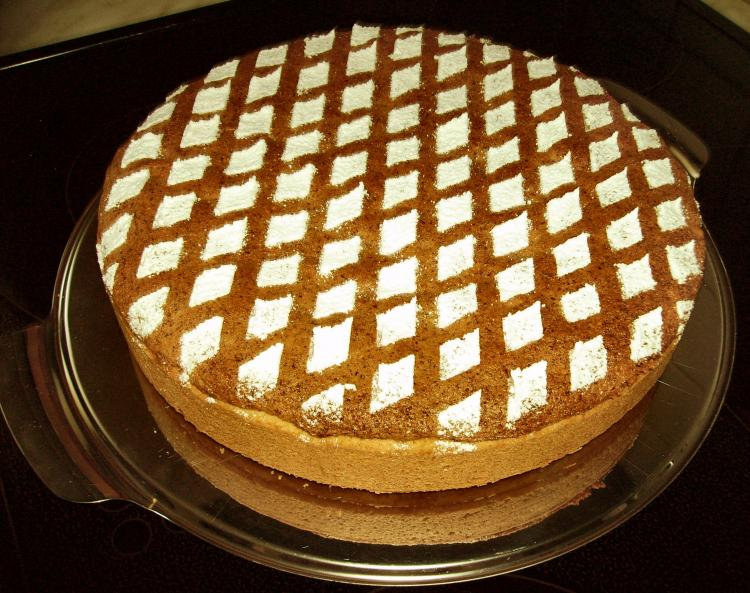 Amarettini Apfelkompott Kuchen Ein Kochmeister Rezept