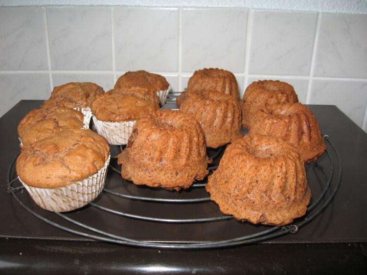 Schoko-Nutella Muffins