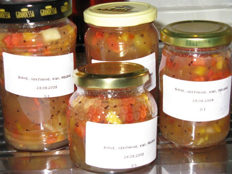 Konfitüren oder Marmeladen im BBA