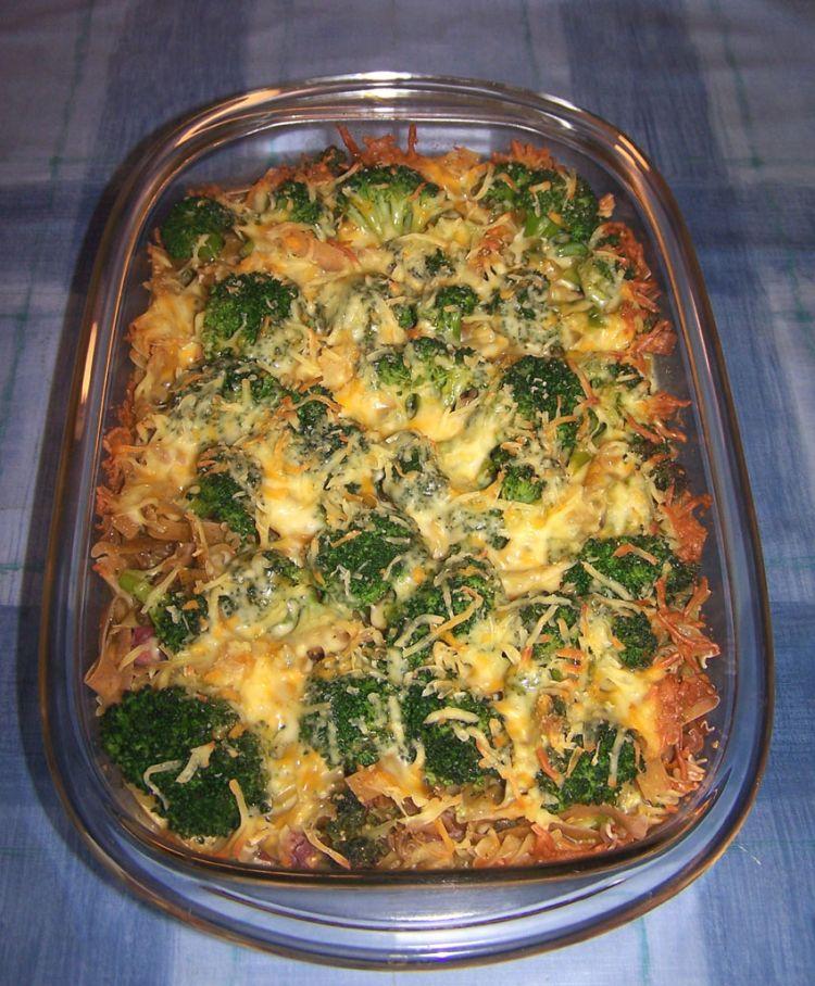 Nudel-Broccoli-Auflauf