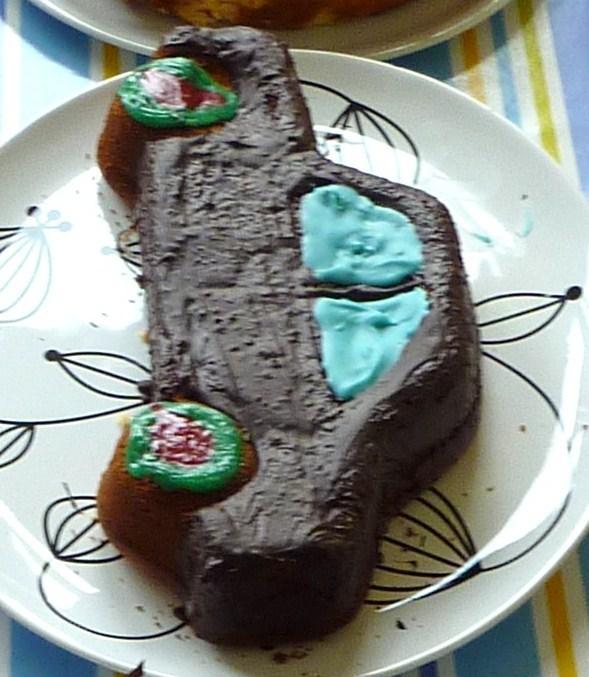 saftiger Rührkuchen - Marmorkuchen