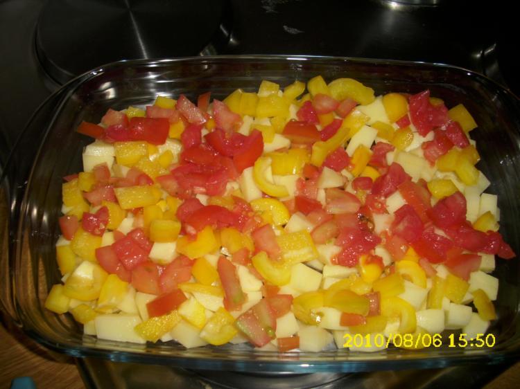 Bunter Gemüseauflauf