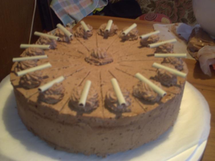 Schokoladen-Mascarpone-Torte  - meine schnelle Torte