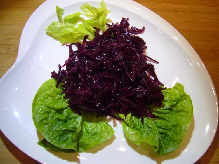Bayerischer Blaukrautsalat