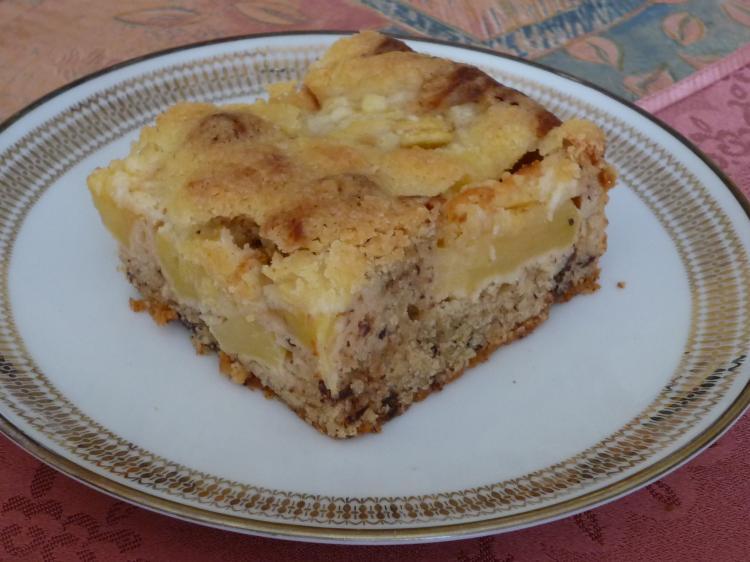 Apfel Nuss Kuchen Vom Blech Ein Kochmeister Rezept Kochmeister Com