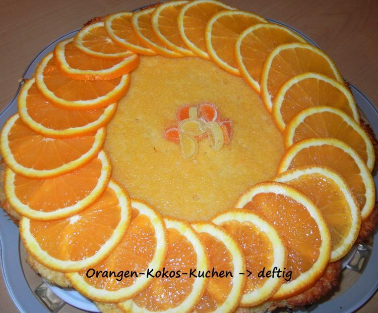 Orangen Kokos Kuchen Ein Kochmeister Rezept Kochmeister Com
