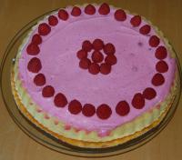 10-Minuten-Torte Himbeer