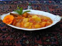 Ayurvedisches Papaya-Sharaya-Mango-Chutney