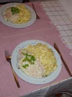 Lachs-Sahne-Sauce