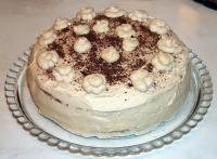 Capuccino Sahne Torte