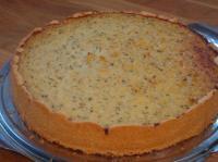 Speck-Zwiebelkuchen mit Käsemürbeteig