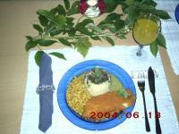 Zitronen - Dill - Sauce zu Fisch