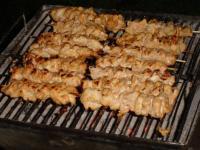 Hühnchen-Grillspiess
