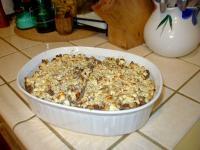 Kartoffel-Bohnen-Hack-Feta-Auflauf