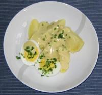 Kochen für 1 Person: Eier mit Senfsauce