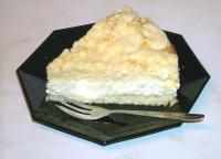 Streuselkuchen mit Vanillecreme