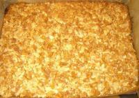 Knuspriger Mandel-Cornflakes-Butterkuchen