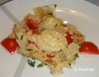 Auflauf mit Hähnchenbrustfilet und Couscous