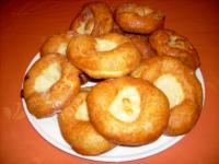 Bayerische Küchel oder Ausgezogene