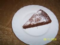 Französische Schokoladentarte