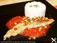 Fischfilet mediterrané für Abby (GG)