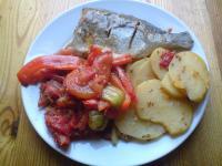 Dorade im Ofen nach Art von Marrakesch