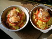Kartoffel-Lachs-Gratin