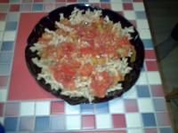Spiralnudeln mit Paprika-Tomaten-Soße (GG)