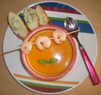 Kürbis-Kokos-Suppe (süß/scharf)
