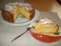 Oma's versunkener Apfelkuchen