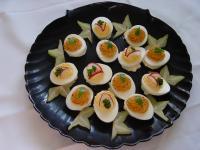 Schnelle Eierplatte (Kalte Platte)