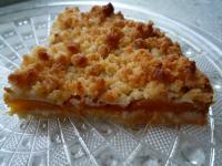 Schneller Streuselkuchen mit Aprikosen