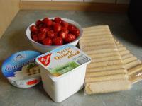 Erdbeer - Quark – Tiramisu
