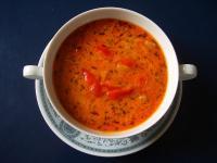Pikante Gyros-Suppe