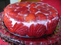 Frühlingstorte Erdbeer-Topfen-Sahne