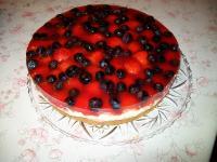 Beerige Sahne-Quark Torte