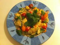 Zucchini-Tomaten-Pfanne mit Gnocchi